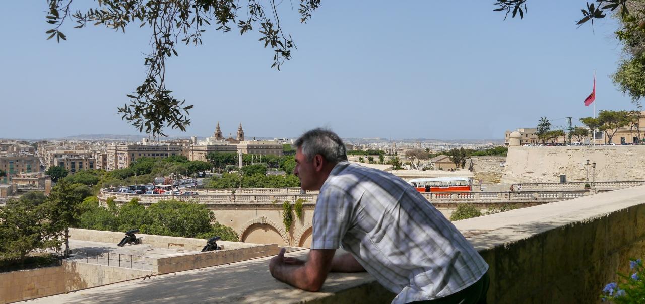Location scouting in Malta
