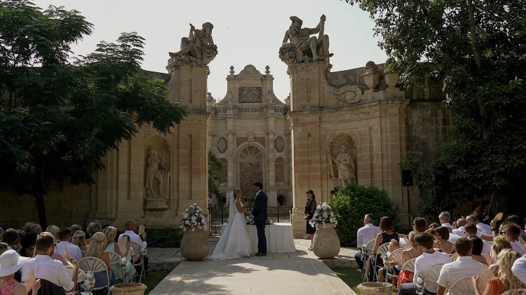 The best Wedding Videographer in Malta