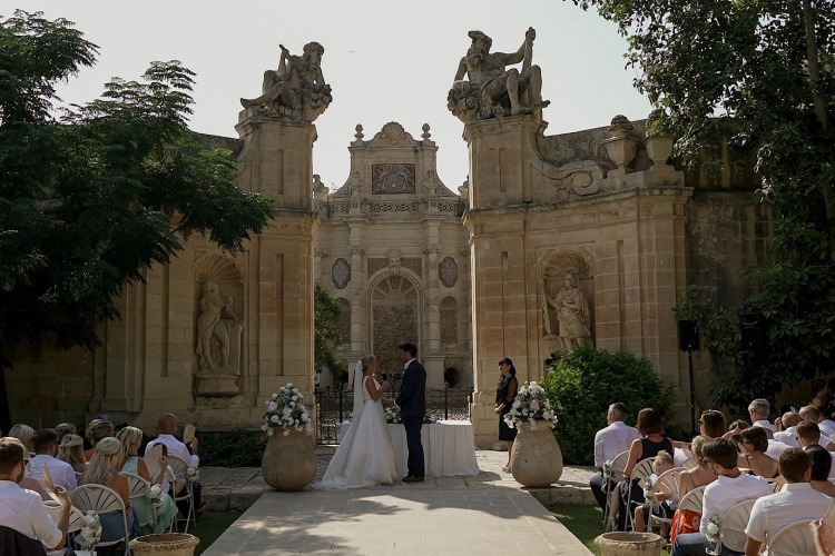 The best Wedding Videographer in Malta