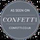 confetti badge